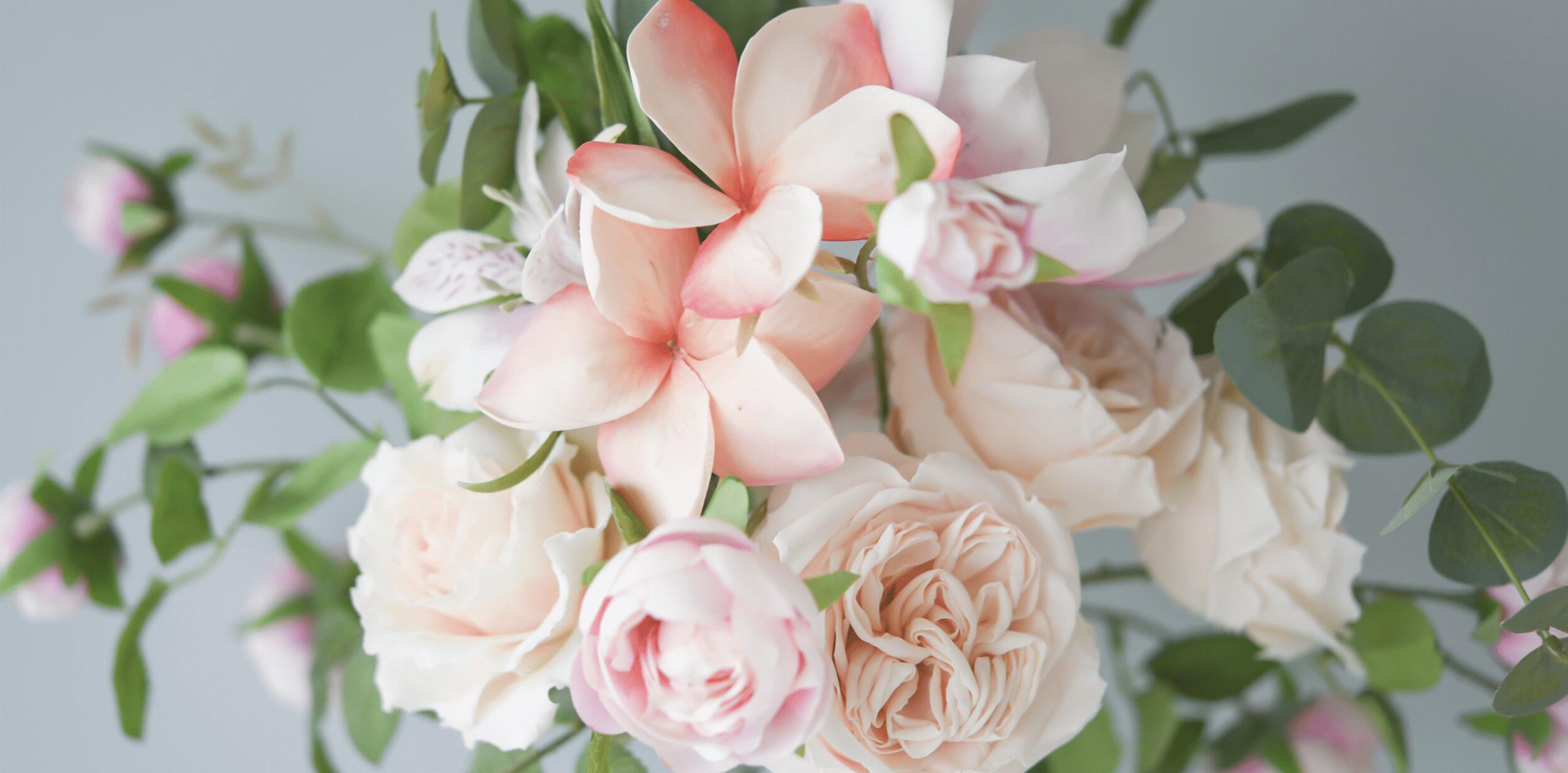 Modern Sugar Flower Mini-Course – The Frangipani