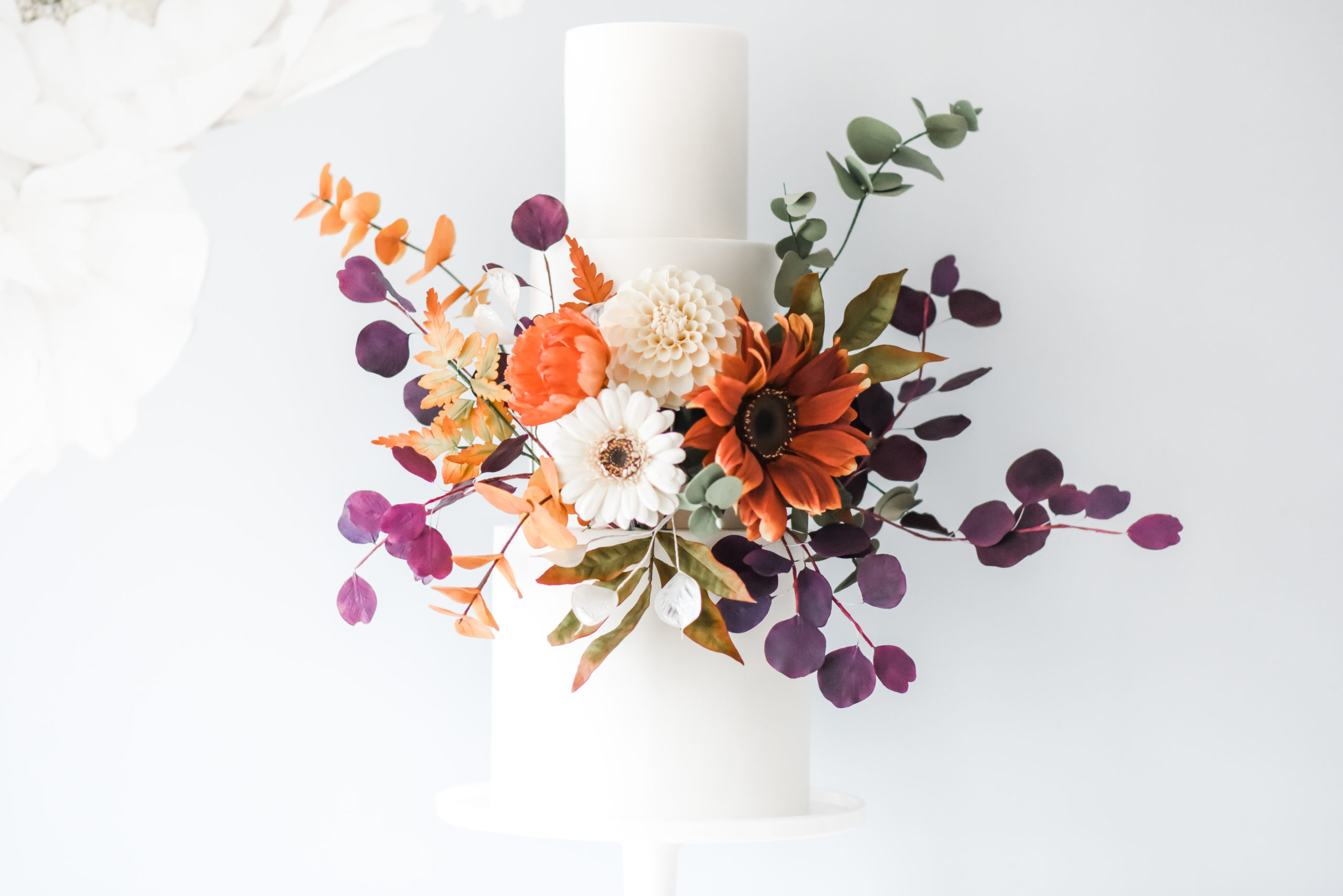 Modern Sugar Flower Mini-Course – The PomPom Dahlia